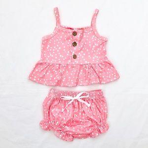 Baby girl 2 piece summer set